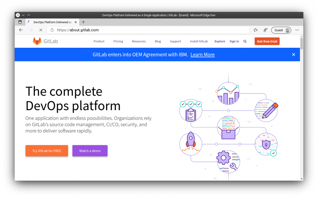GitLab is the undisputed leader in software project management for teams.