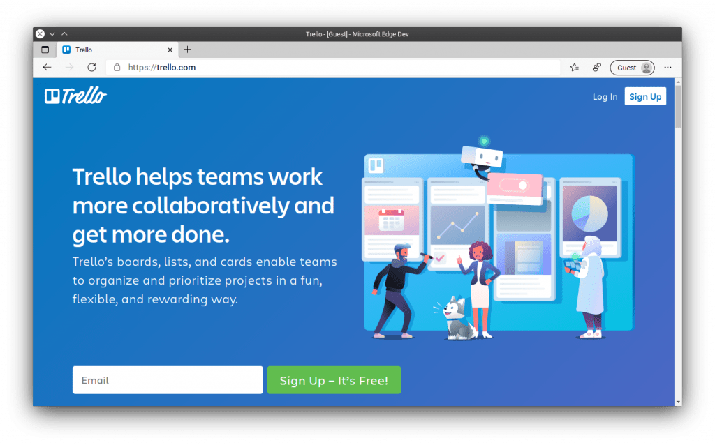 Trello - project management tool for beginners