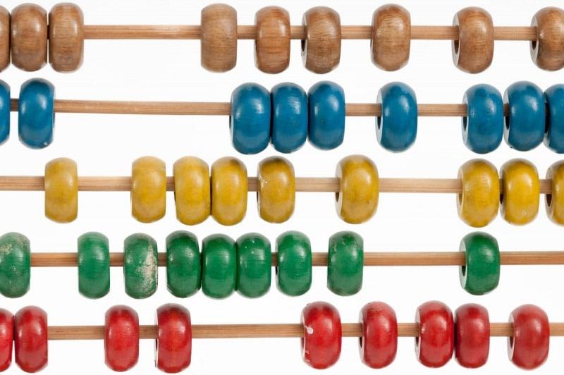 Una herramienta de cálculo - ábaco